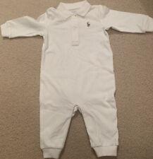 Baby Boy Ralph Lauren Con Colletto Tuta, età 6 mesi, Bianco