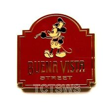 Disney Pin 90836 Mickey Steamboat Willie Buena Vista Street DLR Booster Pack NEW