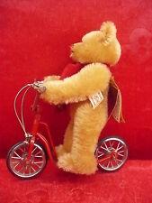 schöner,hochwertiger Teddybär __Hermann__Limited Edition__auf Roller_!