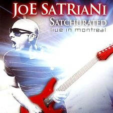 SATRIANI JOE - SATCHURATED - LIVE IN MONTREAL - 2 CD NUOVO