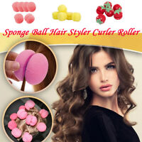 Sponge Ball Hair Styler Curler Roller For Lady Hair Care Round Curl 6pcs