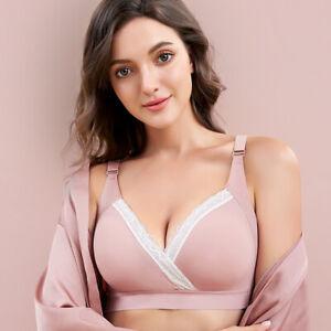 Nursing Maternity Bra Clothing Cotton Breastfeeding Bra for Pregnant Women