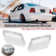Scheinwerfer AbdeckungTransparent Gläser Lens für 1999-2004  VW Jetta MK4 Bora