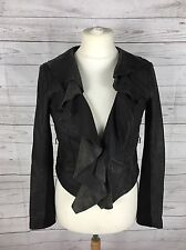 Women's Warehouse Leather Jacket -  UK12 - Brown - Great Condition