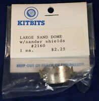 Large Sand Dome with Shields 2160 / Kitbits HO Scale Cast Metal Detail Parts