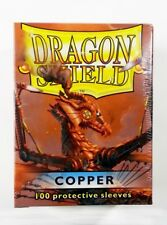100 Dragon Shield card sleeves/Copertine-Copper/RAME