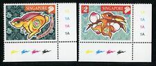 Chinese new year stamp rabbit Singapore MNH post office fresh
