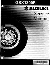 Suzuki GSX 1300R Hayabusa Service Repair Maintenance Shop *PDF* Manual 2008-2013