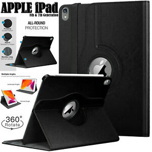 """Leather 360 Degree Rotating Case For Apple iPad Pro 9.7"""" Air 1/2 & 5th/6th (Gen)"""