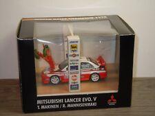 Mitsubishi Lancer Evo V World Rally Champion 1998 - Skid 1:43 in Box *35786