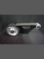 """6"""" combo platen for 2x72 knife grinder, 6"""" contact wheel"""
