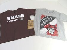 Unisex Toddler A Knights Apparel UMass  2 Pair Sports Shirts Size 2 T NWT