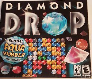 Diamond Drop & Aqua Bubble PC Puzzle Match Games Window10 8 7 Vista XP