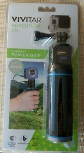 New, Sealed Vivitar Compact Power Grip. Charger W/ USB Camera Mounts. 4000 mAh