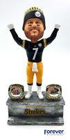 Ben Roethlisberger Pittsburgh Steelers 2X Championship Ring Base Bobblehead