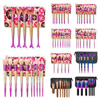 Pro Kabuki Style Makeup Brushes Set Cosmetic Blush Face Powder Foundation Brush`