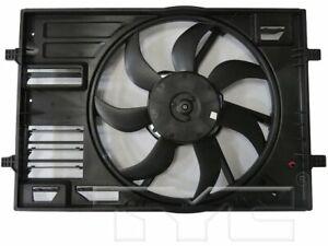 For 2019 Volkswagen Jetta Radiator Fan Assembly TYC 66263HF