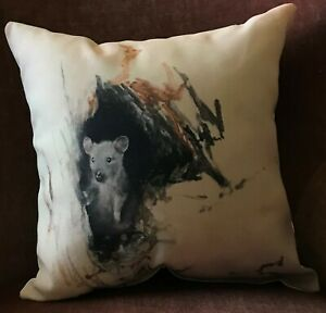 """Mouse Pillow, Original Design 14"""" x 14"""", Soft, Durable and 100% Polyester"""