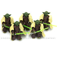 Lot 5 Movie Boys Toy Gift Star Wars Yoda 2004 Empire Strikes Back Action Figure