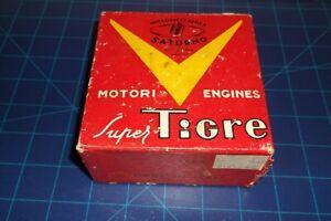 """A1 NICE  """"VINTAGE"""" V G 21 .40 -SUPER TIGRE- FRONT INTAKE  R/C MODEL AIRPLANE ENG"""