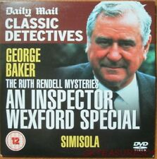 AN INSPECTOR WEXFORD SPECIAL DVD CLASSIC DETECTIVES GEORGE BAKER RUTH RENDELL