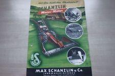 197284) Schanzlin - Motormäher - Prospekt 195?