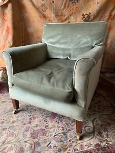 A Lovely Antique Howard & Sons, Berners Street, Armchair