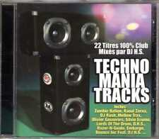 Compilation - Techno Mania Tracks - CD - 2000 - Techno Trance ULM France DJ HS