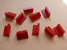 Lego 10 panneaux rouge set 5524 6429 5891 8144  / 10 red panel