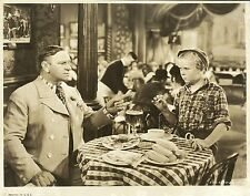 """WALLACE BEERY & JACKIE COOPER in """"The Bowery"""" Original Vintage Photo 1933"""