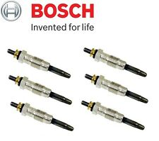 NEW Mercedes W124 W123 W201 SET OF 6 Diesel Glow Plug Pin BOSCH 000 159 83 01