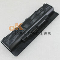 Laptop 5200mah 6Cell Battery for Asus N76 N56VB N56VJ N76VM N76VZ A31-N56 NEW