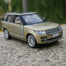 Land Rover Range Rover Model Cars 1:34 Suv Alloy Diecast Champagne Sound&light
