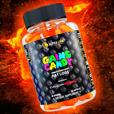 Alpha Lion Gains Candy CALORIBURN WEIGHT & FAT LOSS ENERGY FREE SHIPPING