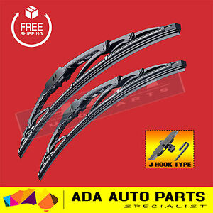 Ford Courier Metal Frame Windscreen Wiper Blades (PAIR)