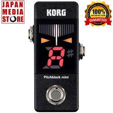 KORG Pitchblack mini PB-MINI Black Pedal Tuner 100% Genuine Product