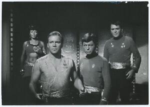 Vintage Original Star Trek 1967 Photograph Nichelle Nichols William Shatner Rare