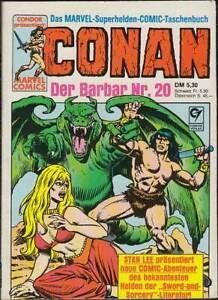 Conan der Barbar Taschenbuch Band 20: Höhle des Grauens (1. Auflage 1987) Z 2+