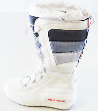 HELLY HANSEN LADIES EQUIPE 3 SNOW BOOT WHITE SIZE 6 OPEN BOXED