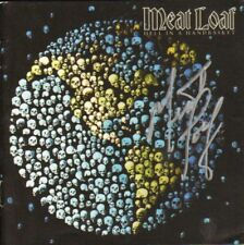 Meat Loaf Autographed Hell In A Handbasket Signed CD Cover COA AFTAL
