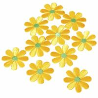 10x Hot Embroidered Applique Flower Sewing Iron On Patch Badge Sewing DIY Craft