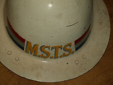 Maritime Shipping Transport Service WWII helmet from san francisco bakelite w/ l