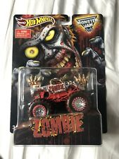 Hot Wheels Monster Jam Mail In Zombie Walmart 1:64 Truck Rare