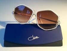 vintage CAZAL 165 white W.Germany rare sunglasses 80s no reissue 163 951 968 856