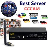 CCCAM CLINE CCAM Servidor EUROPA 1 Año Garantia y Soporte |Server EUROPE 1 Year