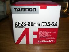 Tamron AF 28-80mm F3.5-5.6 Aspherical for Nikon