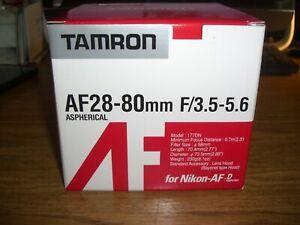 Tamron AF 28-80mm F3.5-5.6 Aspherical for Nikon