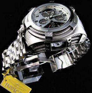 Invicta Reserve Watch for Men, Bolt Zeus Tria 56mm 3 Swiss Movement Dials, SS