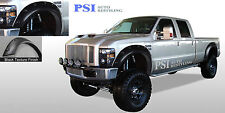 BLACK TEXTURED Pop-Out Fender Flares 08-10 Ford F-250, F-350 Super Duty 4pcs