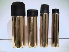 1 brass ferrule cane tip for a walking stick or cane comes with a rubber bottom